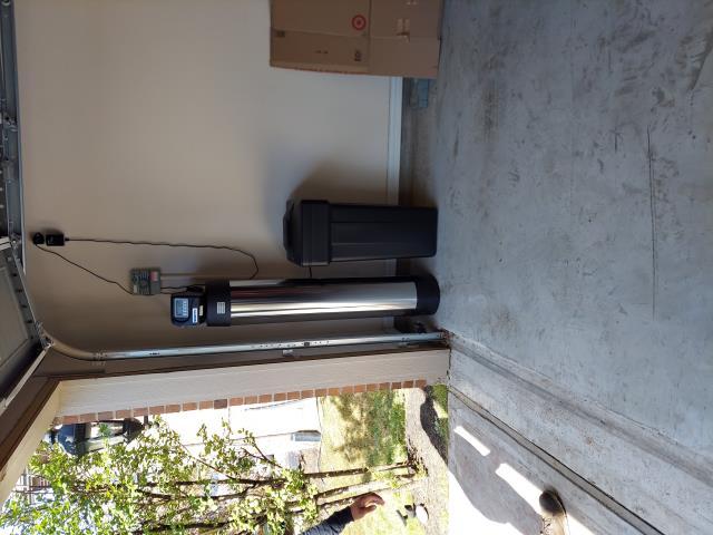 Katy, TX - Installed chem-free platinum series softener/filter in garage drain to french drain