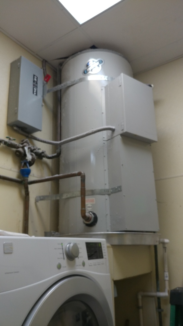 Fairfield, CA - Just successfully repaired a 80 gallon electric water water heater for a spa.