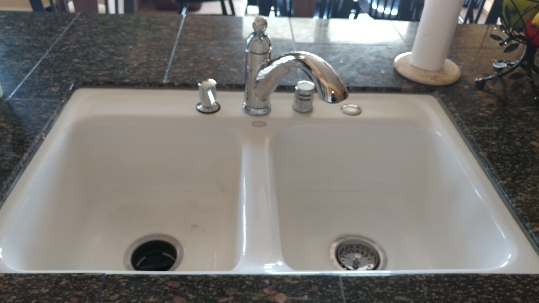 Fairfield, CA - Kitchen faucet and under sink plumbing was leaking. Replace kitchen faucet angle stops and under sink plumbing. Tested no leaks at this time.