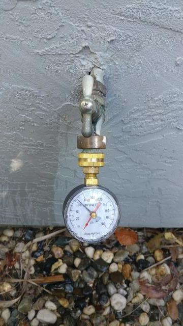 Benicia, CA - Low water pressure