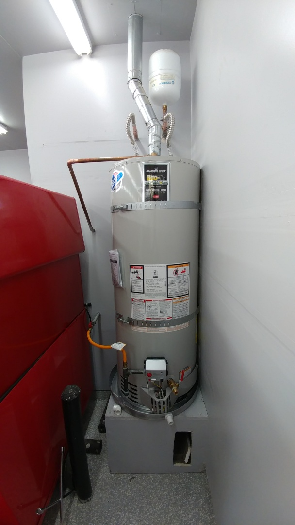 Replaced 14 year old water heater.