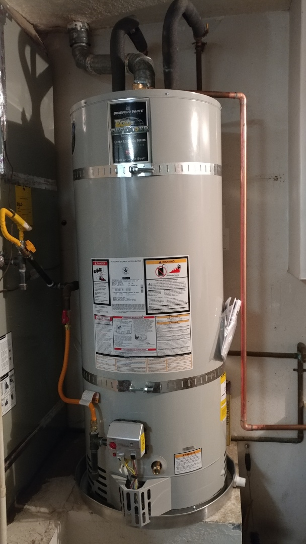 Dixon, CA - Installed new 50 gallon water heater