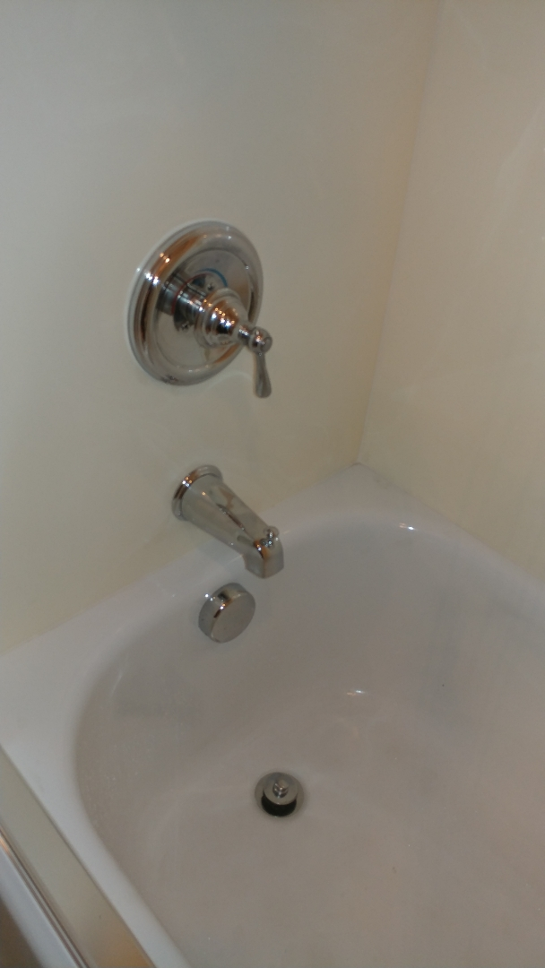 Fairfield, CA - Install new tub spout with diverter