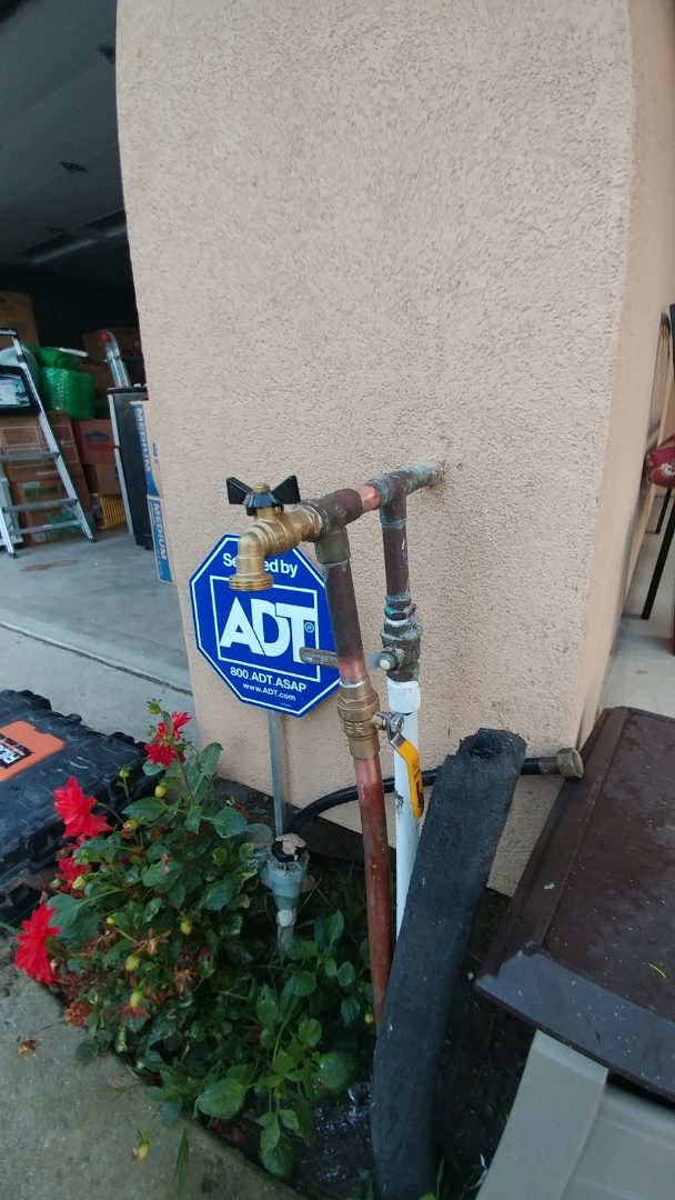 Vallejo, CA - Installed new ball valve.