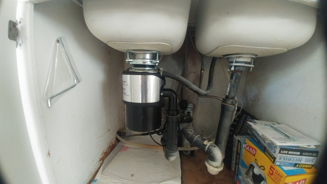 Suisun City, CA - , installed a new garbage disposal for a client.