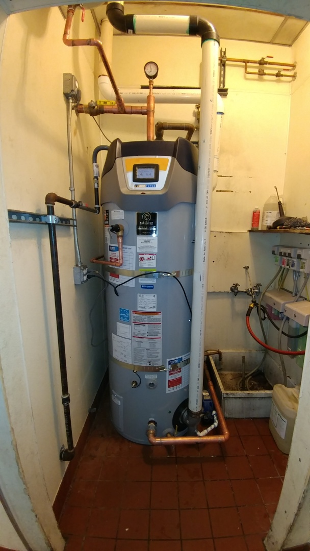 Napa, CA - Installed new 100 gallon water heater.