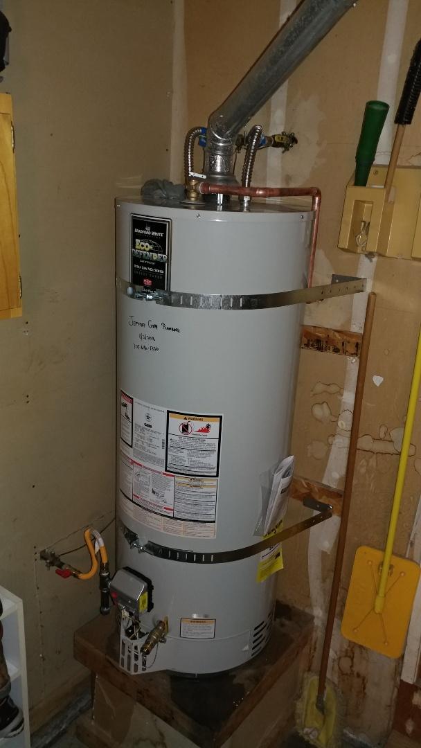 Suisun City, CA - Installed new 50 gallon water heater