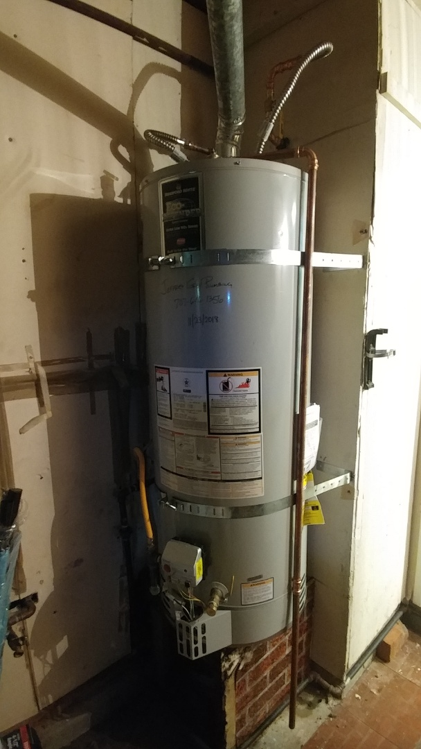 Fairfield, CA - Installed new 50 gallon low nox water heater and cleared main drain of home.