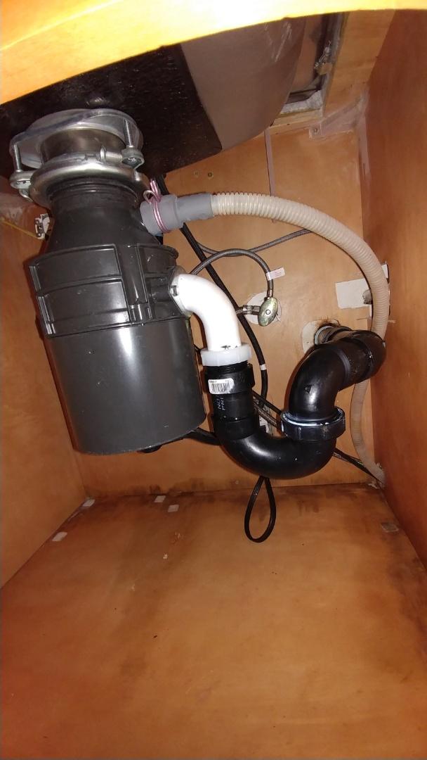 Vacaville, CA - Repaired broken waste arm under kitchen sink.