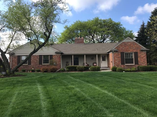 Troy, MI - Kearns Brothers working for another referral from previous homeowner to install new Certainteed Vinyl siding and Quality Aluminum trim. Kearns will be installing new Sunrise Restorations Vinyl Windows in Sunroom.