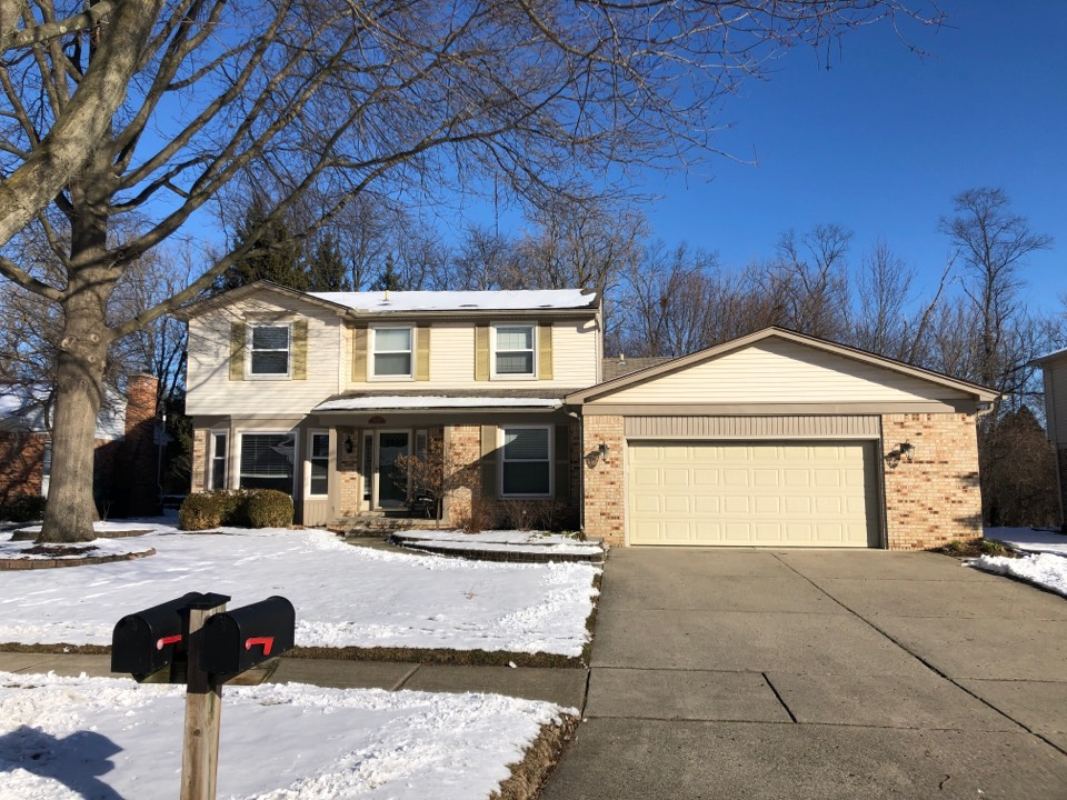 Plymouth, MI - Kearns Brothers Inc Providing an estimate for a new GAF Roofing system.