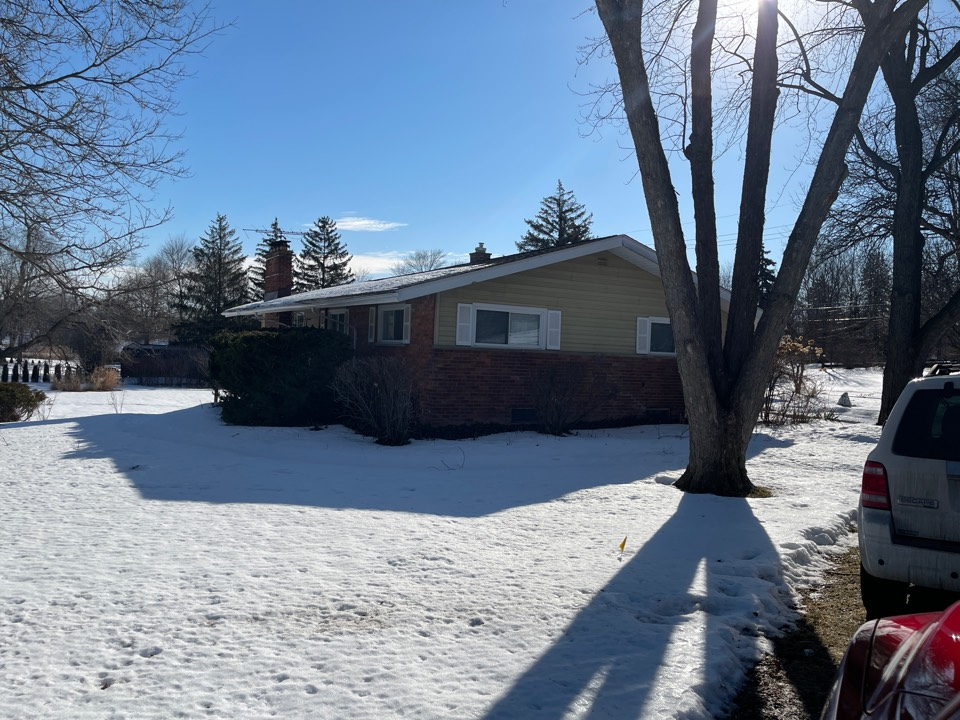 Plymouth, MI - Kearns Brothers Inc Estimating a new GIF lifetime roofing system for a new client