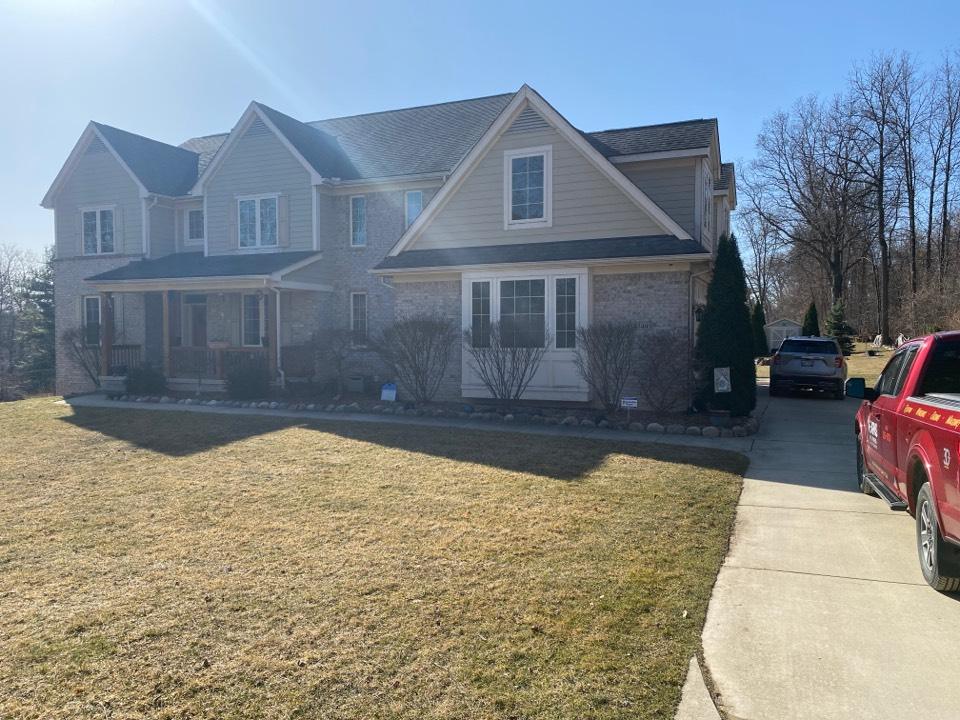Plymouth, MI - Have a leaking roof? In need of a new roof? Call Kearns  Brothers and ask for Scotty P. If I can fix it we will talk about the new Timberline HDZ shingle.
