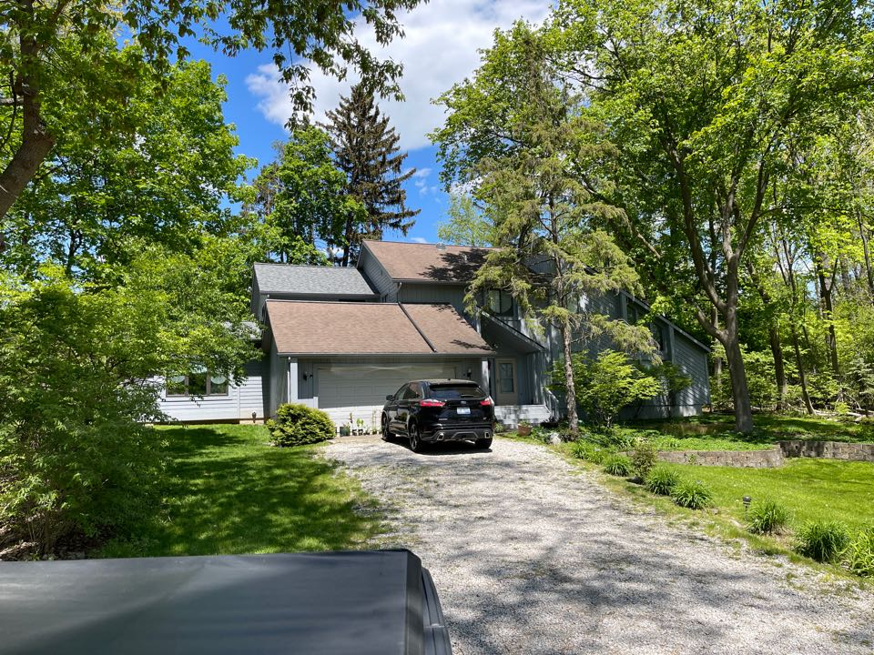 Ann Arbor, MI - Kearns Brothers Inc. inspecting house for replacement to new Certainteed Landmark Pro shingle