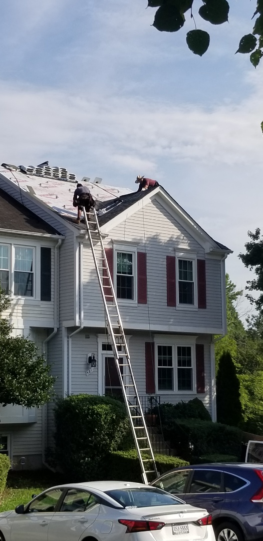 IKO CAMBRIDGE ROOFING SYSTEM INSTALLED IN CENTREVILLE VA  LIFETIME TOOL BOOT COLLARS  SYNTHETIC UNDERLAYMENT  SOLAR ATTIC FAN 40 YEAR WARRANTY  DISCOUNTED PRICING  LOCAL COMPANY
