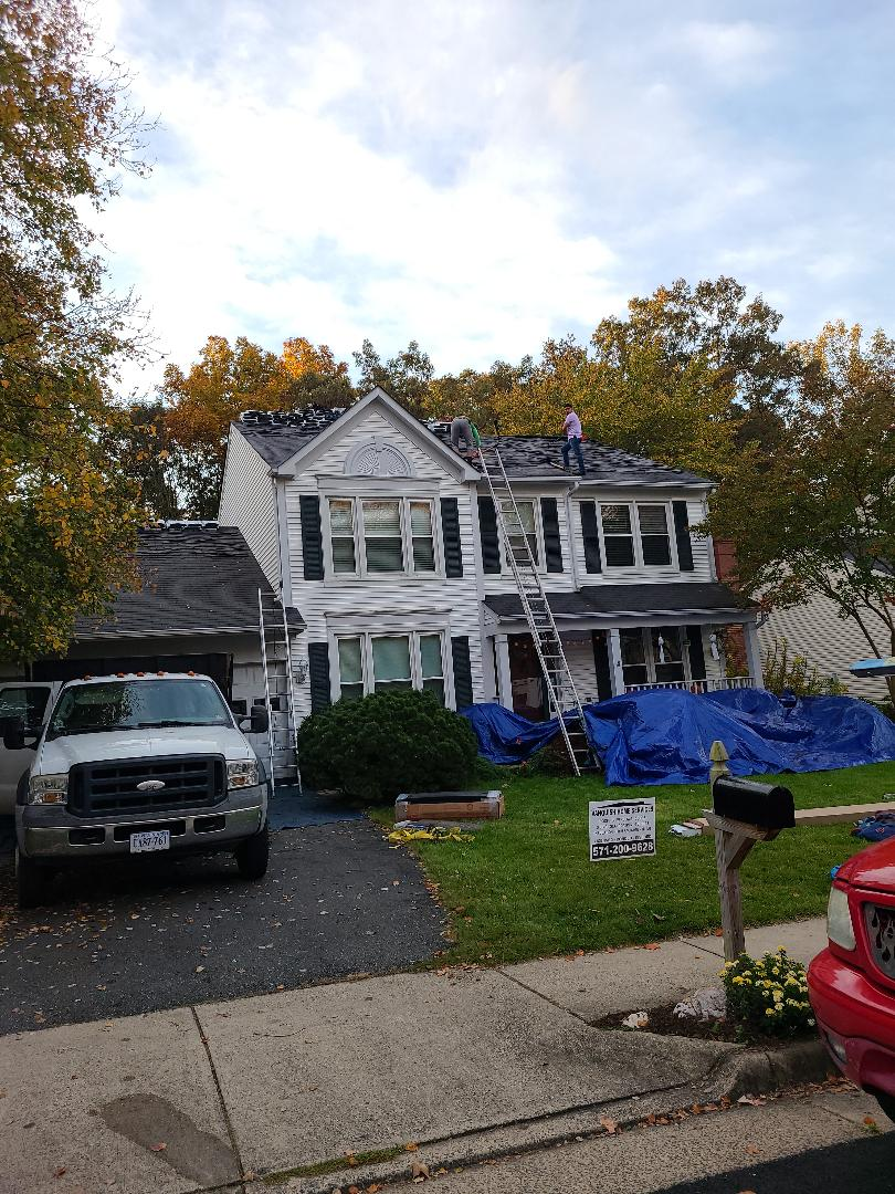 IKO CAMBRIDGE ROOFING SYSTEM INSTALLED IN CLIFTON VA