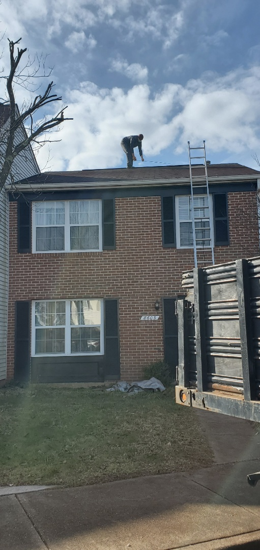Roof inspection In Manassas, Prince William County, Virginia area toady!  VANQUISH HOME SERVICES 571-200-9628