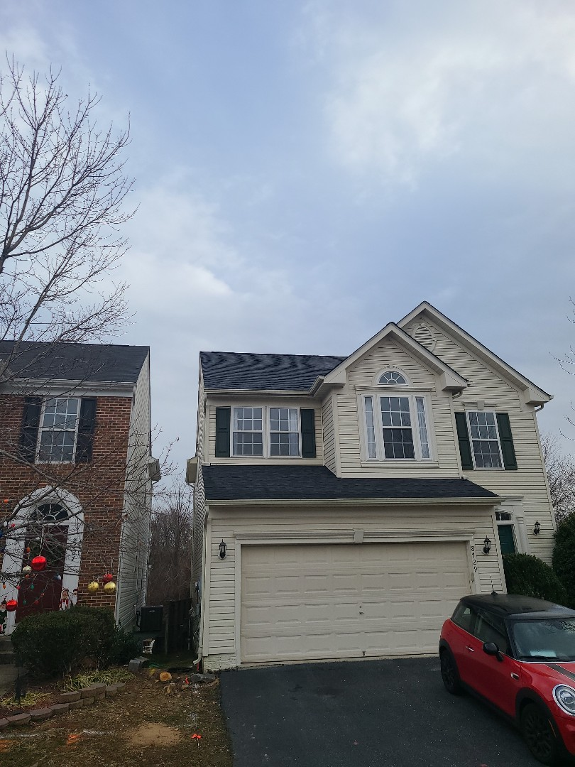 NEW ROOF INSTALL. (IKO CAMBRIDGE DUAL BLACK) ALEXANDRIA VA; FAIRFAX COUNTY