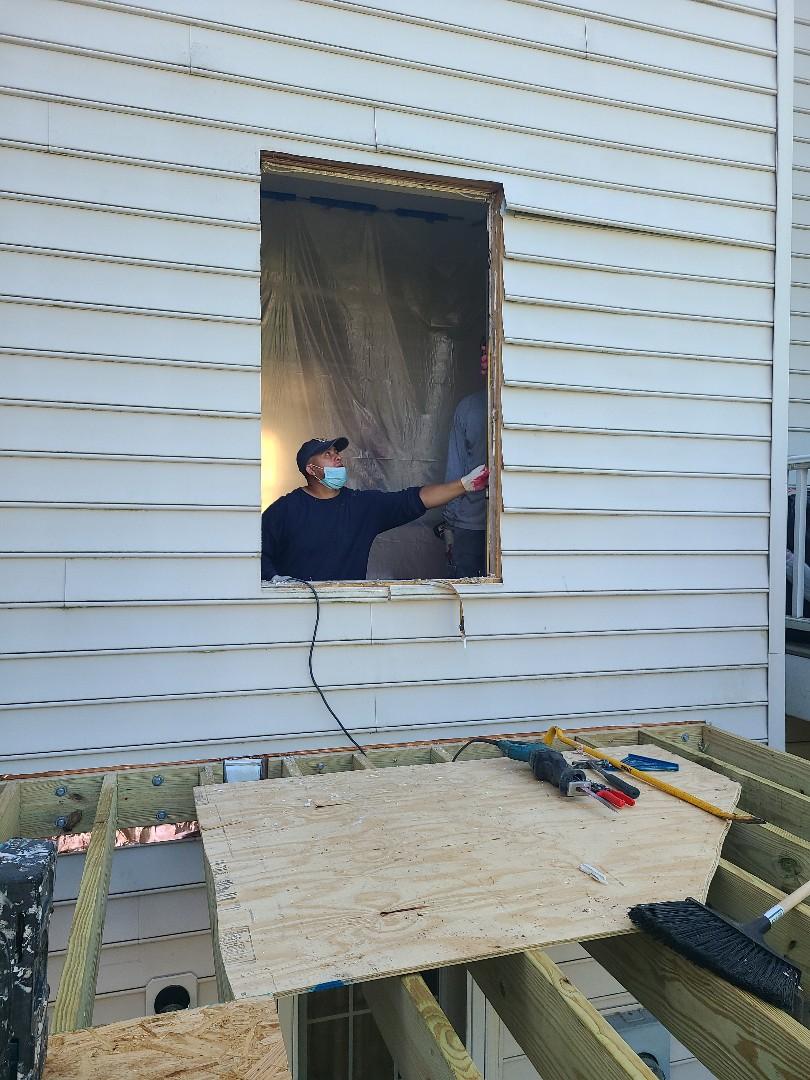 Alexandria, VA - WINDOW TO DOOR CONVERSION ALEXANDRIA VA
