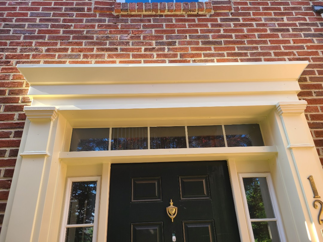 Bristow, VA - CUSTOM DOOR AND WINDOW TRIM WRAP