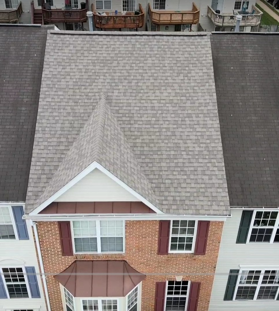 IKO CAMBRIDGE ROOFING SYSTEM  DUAL GRAY- FAIRFAX VA - REROOF- ROOR REPAIR- ROOF LEAKING?- PRINCE WILLIAM COUNTY AND SURROUNDING AREAS  VANQUISH HOME SERVICES  571 200 9628