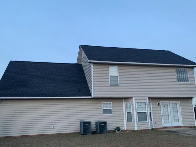 Fayetteville, NC - ATD Restoration wraps up another successful install of GAF Timberline HD Charcoal shingles!