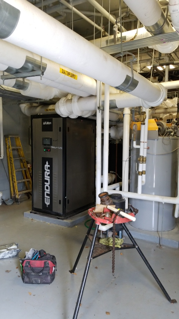 Baltimore, MD - Working on heat boiler system