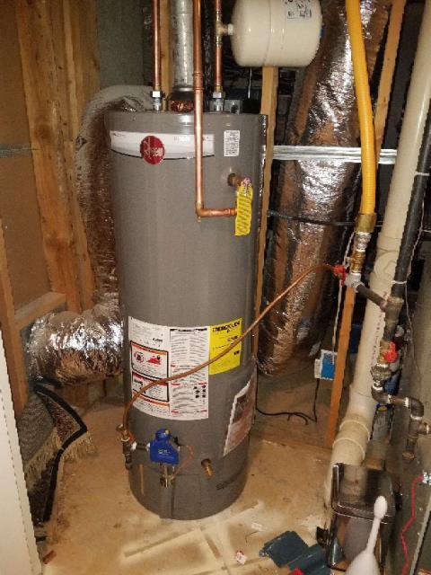 Smyrna, GA - Replaced 50 gallon gas water heater