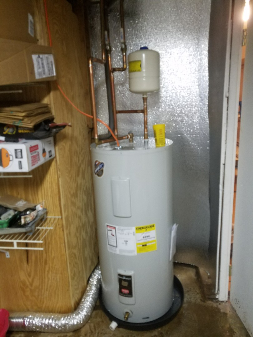 Austell, GA - Install 40 gal. electric water heater