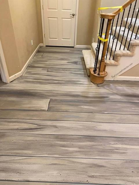Kansas City, KS - Decorative concrete systems that will astonish your family and guests every time they come over!! Concrete Wood is perfect for any job, any color!!