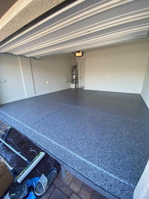 Kansas City, KS -  Graniflex can transform any garage into a beauty!