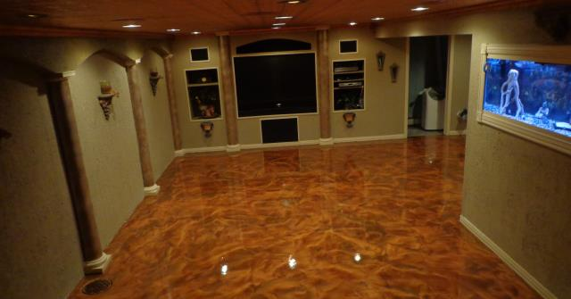 Kansas City, KS - Incredible lobby floor! The color of orange really sets the mood and makes the room feel grand and fills the air with awe. Speakman Flooring has some very skilled workers! They make amazing marble decorative floors! Their prices for the great quality are very fair too!