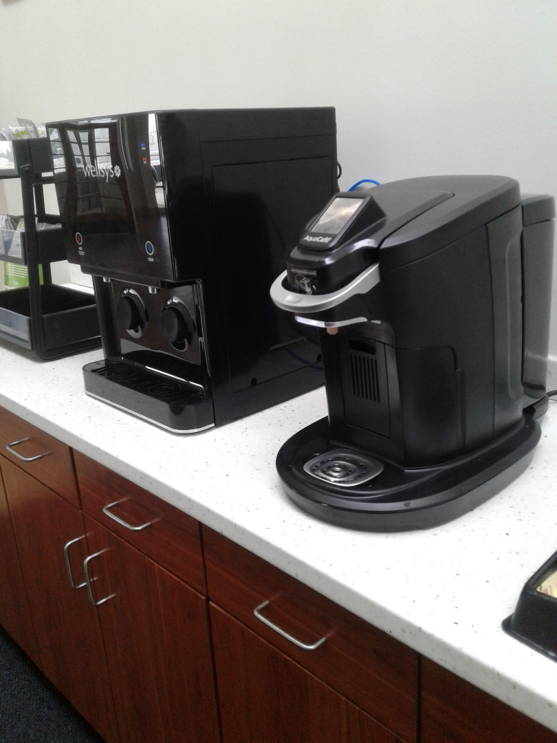 Columbus, GA - Coffee and water service at Rivertown Subaru