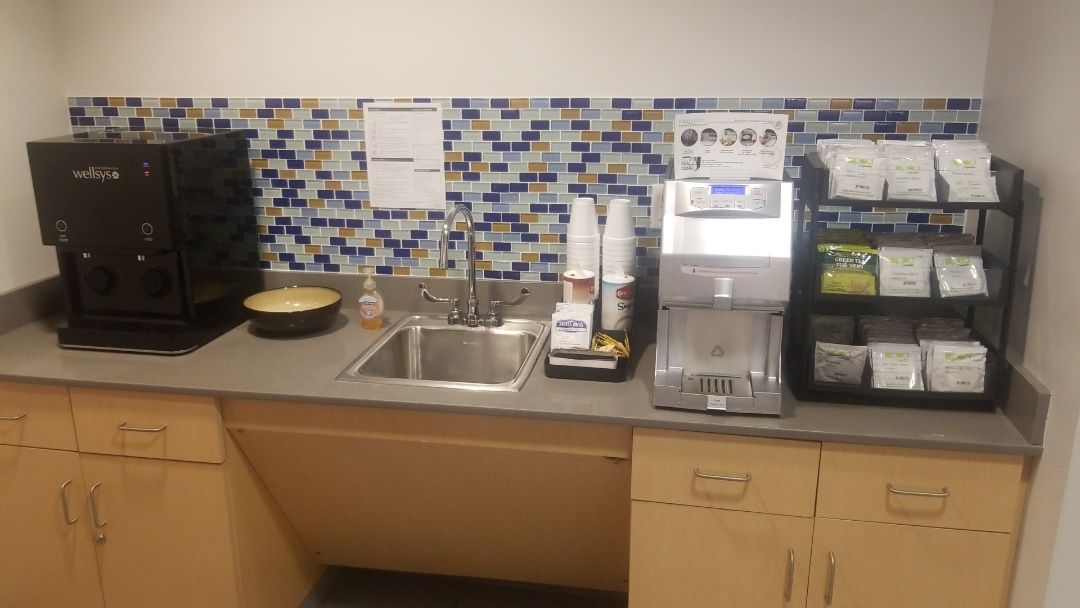 Providing great quality coffee and water service at a great car dealership Lynch Chevrolet!