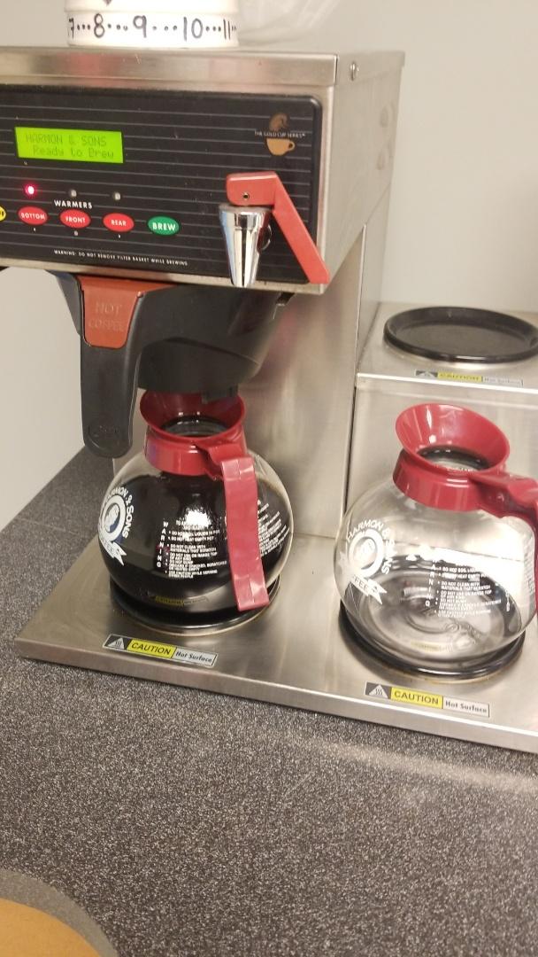 Providing great coffee service at Hyundai of Auburn!