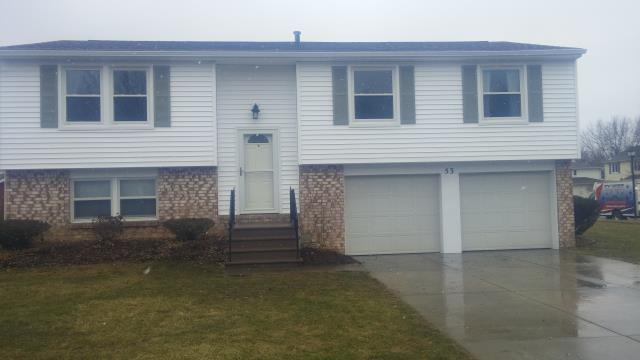 West Seneca, NY - Installed all new vinyl siding after recent wind storms damaged the old.