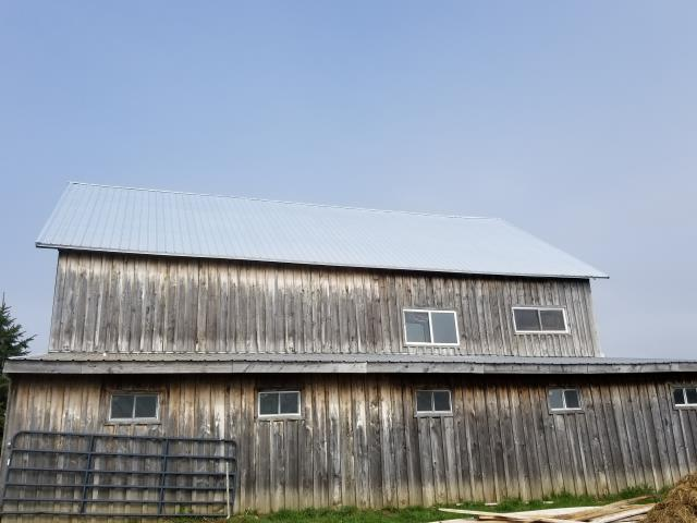 Silver Creek, NY - Galvanized roof installation in Sliver Creek.