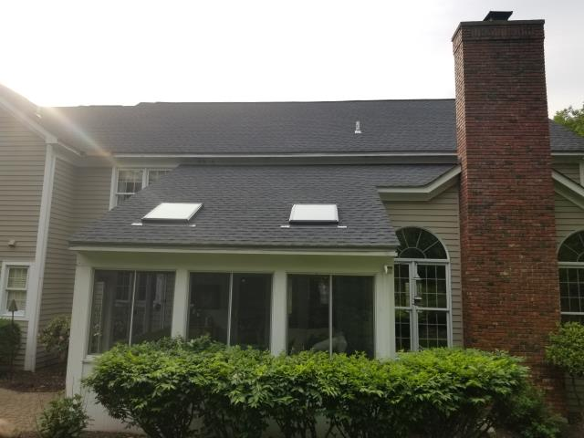 Orchard Park, NY - Completed a full roof replacement in Orchard Park using GAF Timberline Charcoal.