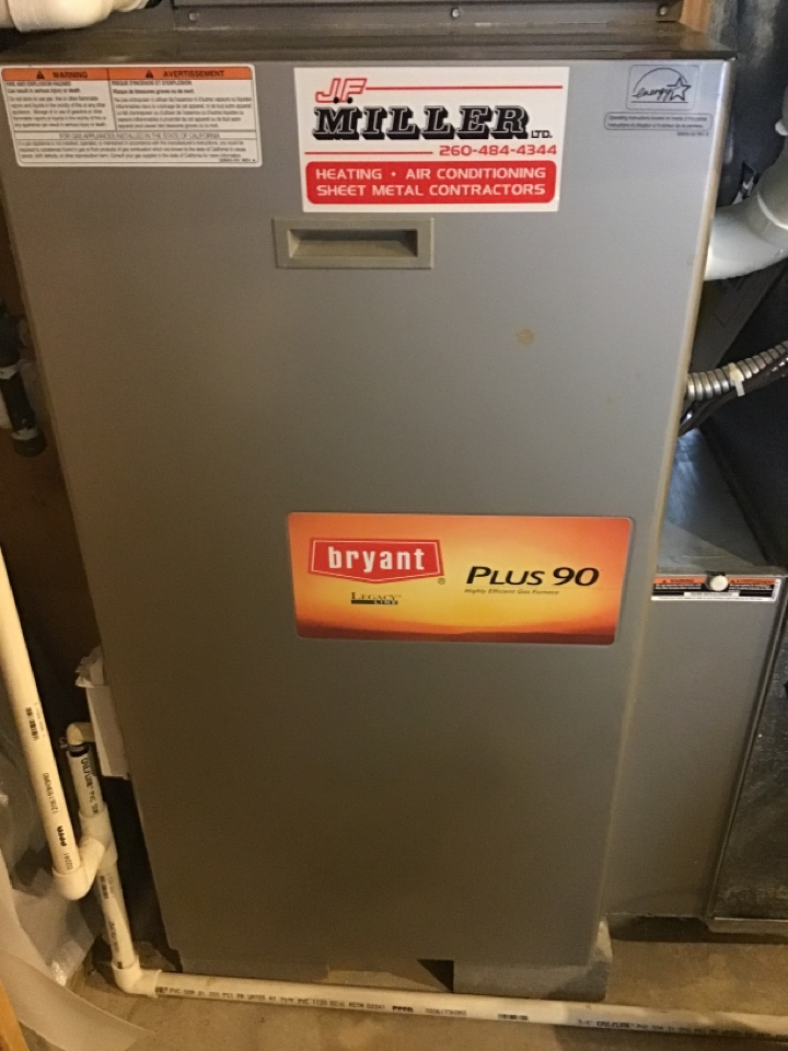 Fall20' check and service furnace unit.