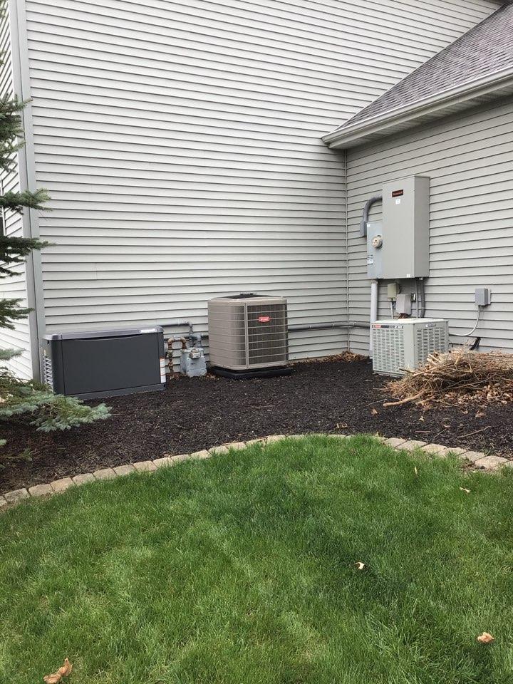 Decatur, IN - Install Honeywell generator.