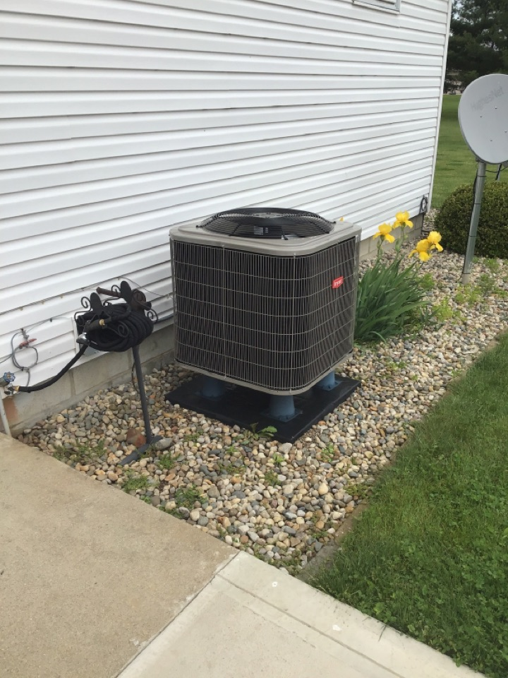 Spring and fall check and service a/c and furnace units