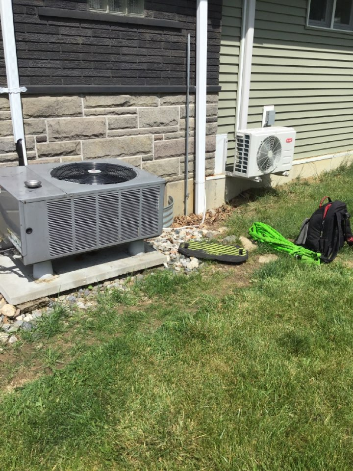 Spring 21' check and service a/c and both mini split units.