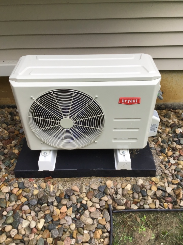 Spring 21' check and service a/c unit.