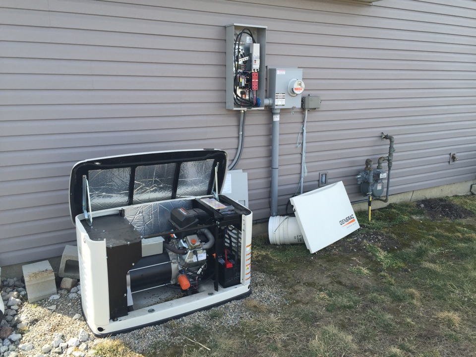 Roanoke, IN - Generator repair on a 14KW Generac generator.