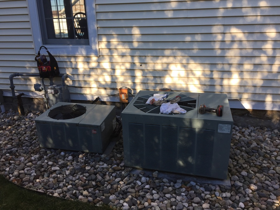 New Haven, IN - Annual a/c maintenance on Rheem system