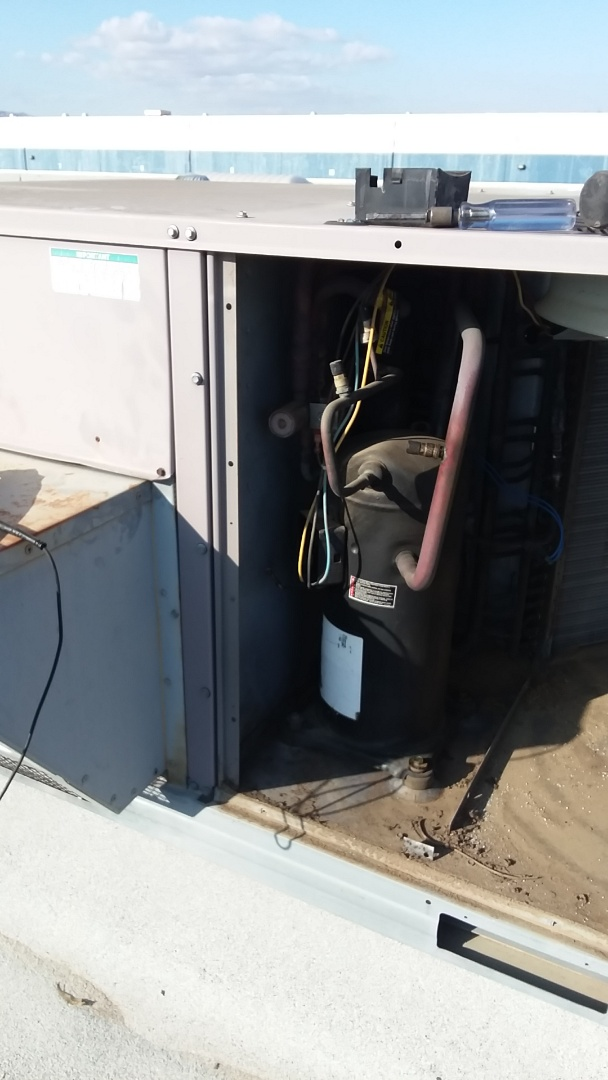 Vacaville, CA - Compressor replacement