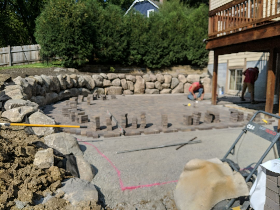Excelsior, MN - New paver beechwood Holland patio