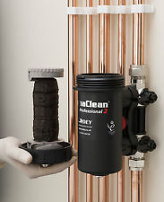 East Rutherford, NJ - Install magnetic filters on a standard combi gas boiler and replace heat exchanger.
