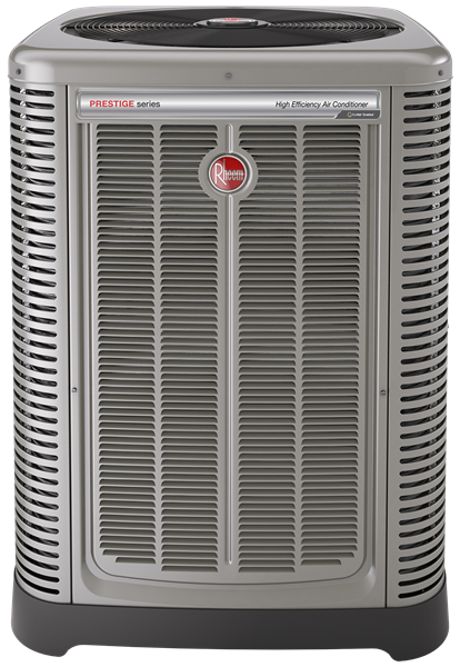 Ridgefield, NJ - American Way Plumbing Heating & Air Conditioning repaired a Rheem Prestige RA20 central AC