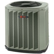 Closter, NJ - American Way Plumbing Heating & Air Conditioning repaired a Trance XB16 central AC